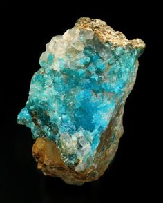 Turquoise - Bishop Mine, Lynch Station, Campbell Co., Virginia    mw