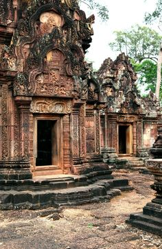 Banteay Srei, Cambodia #travel #travelphotography #travelinspiration