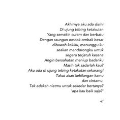 #kata #words #tipografi #typography #poems #poetry #puisi #poetic #rf0898 #rf