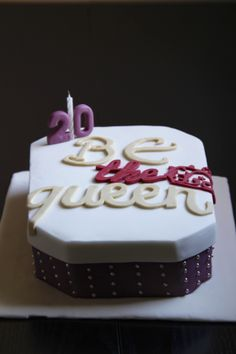 Be the queen cake