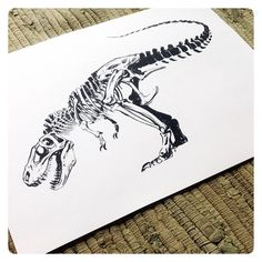 :Illustration:Gallery:Concept: by J.A.W. Cooper: Throwback to this old Pentel Brushpen sketch from the LA Natural History Museum. #JAWCooper #pentelpocketbrushpen @nhmla #nhmla