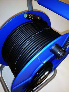 Carro mecanizado con cable Gotham GAC-2 y conectores XLR aéreos Switchcraft