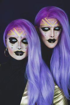 Pic by Extravenganza Halloween Face Makeup, Conditioner, Pandora, Make Up, Magic, Makeup, Beauty Makeup, Bronzer Makeup