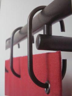 Voici quelques exemples d'anneaux et tringles de chez Home Sails :                                                    Je travaille égaleme...