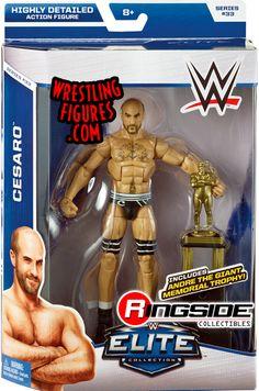 Cesaro - WWE Elite 33 WWE Toy Wrestling Action Figure by Mattel