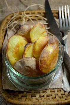 Alors là , comme je vous l'ai dit dans ma recette de Mont d'or au four, cette recette de patate gâteau est la recette la plus simple...