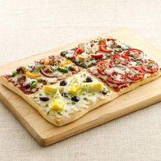 4-Square Family Pizza  | MyRecipes.com