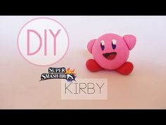 Choose your character! It's the classic rage inducing original OP character: Kirby. Dating back to the original Smash Bros. this character was my nemesis jus. Fondant, Kirby Nintendo, Nintendo Characters, Clay Figures, Fimo Clay, Pasta Flexible, Clay Tutorials, Toddler Activities, Diy And Crafts