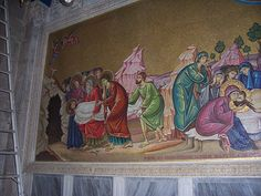 Mosaic in the Church of the Holy Sepulchre #3