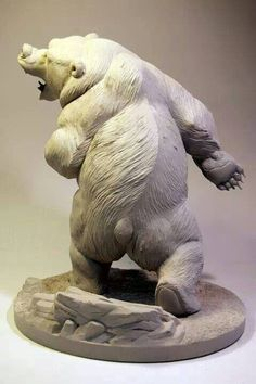 Character Modeling, 3d Character, Character Design, Traditional Sculptures, Disney Pixar, Brother Bear, Modelos 3d, Bear Art, Sculpture Clay