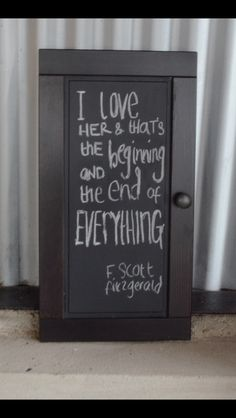 Quotes on chalkboards to decorate the boathouse
