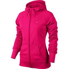 Nike Womens All Time Full Zip Hoodie Mediun Fuchsia *** Be sure to check out this awesome product.(This is an Amazon affiliate link)