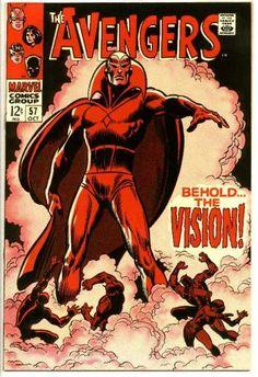 Avengers 57 - Behold The Vision - Superhero - Cape - Red - Marvel