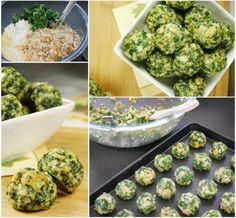 Spinach Balls Healthy Delicious Appetizer | The WHOot