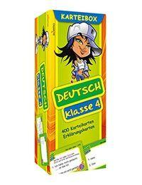 rabe.de - Kinder- & Jugendbücher portofrei - Karteibox Deutsch Rechtschreibübungen (4. Klasse) - Deutsch für die…