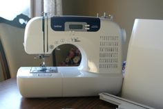 Wooohoooo!  We're giving away this fabulous Brother CS6000i Sewing Machine on my blog.  Go quick and enter!!!