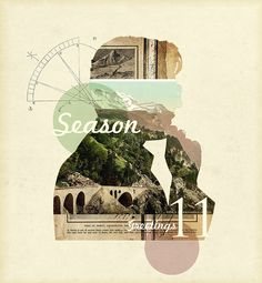 portfolio /// some work by johann terrettaz, via Behance. Collage front cover could be so nice!