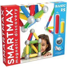 Smartmax Clic clac magnets 25 pièces pour enfant de 1 an à 5 ans - Oxybul éveil et jeux