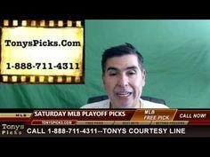 MLB Picks Predictions Betting Odds Preview Saturday 10-8-2016