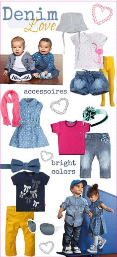 kleinstyle style of the month march 2013  denim love + bright colored accessories