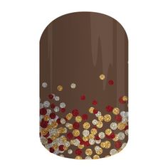 From our new holiday collection...Apple Cider! I love this one so much. I could be worn unrelated to a season, too! #jamberrynails #appleciderjn