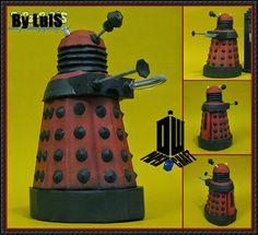 Doctor Who - Dalek Ver.5 Free Papercraft Download - http://www.papercraftsquare.com/doctor-dalek-ver-5-free-papercraft-download.html