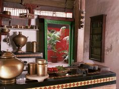 Ethnic Indian Decor: Traditional Indian Kitchen