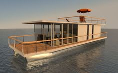 Pontoon Houseboat Diy Aluminium
