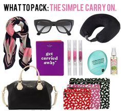 jillgg's good life (for less) | a style blog: what to pack: the streamlined carry on!