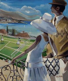 Born in Minneapolis, Minnesota, American artist Trish Biddle studied at the Dallas Institute of Art, before beginning her career as an illustrator and Pablo Picasso, Minneapolis, Art Deco Artwork, Westminster Dog Show, Fine Art Posters, African American Art, Illustrations, Couple Art, Figure Painting