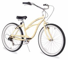 Firmstrong Women S Urban Lady Seven Sd Beach Cruiser Bike White