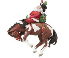 Western Christmas tree decorations, cowboy, cowgirl and rodeo event ornaments. Ideas for a western themed Christmas. Western Christmas Tree, Horse Christmas Ornament, Cowboy Christmas, Country Christmas, Christmas Tree Decorations, Christmas Tree Ornaments, Rodeo Events, Cowgirl And Horse, Work Horses