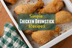 Whether you call 'em chicken drumsticks or chicken legs, you know the whole gang is going to lvoe when you make any of these chicken drumstick recipes for dinner. These easy chicken recipes are perfect for busy weeknight dinners, when you want a dinn Chicken Drumstick Recipes, Chicken Recipes, Turkey Recipes, Crockpot Recipes, Greek Diet, Cheese Curds, Chicken Drumsticks, Greek Salad, New Flavour