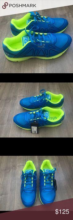 Emporio Armani men's sneakers NWT size 12 men's Emporio Armani Shoes Sneakers