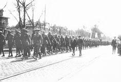 1919 World War I victory Parade on West End Ave. Nashville, TN