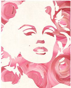 Marilyn Monroe art decoration... I absolutely ADORE her!!!