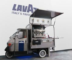 Piaggio Ape Coffee Cart