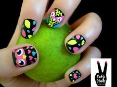 OWL NAILS?!?!?!?!?!?!?!  They're FANTASTIC!
