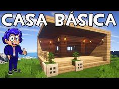 Minecraft construindo uma pequena casa moderna 6 casas for Mirote y blancana casa moderna