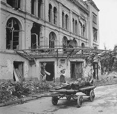 60 Vintage Photos of the Destroyed Berlin in 1945 ~ vintage everyday Vintage Photographs, Vintage Photos, Berlin 1945, German People, German Women, Kaiser Wilhelm, Haunting Photos, Total War, Germany