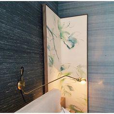 Corner details at Verde 2 model apartment. #Jakarta #ThoseWalls #Gradient #mossandlam (: @john_e_geee )