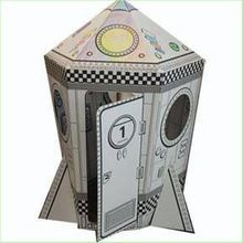 Cardboard Playhouse, Cardboard Playhouse direct from Shenzhen Advalue Display Co., Ltd. in China (Mainland)
