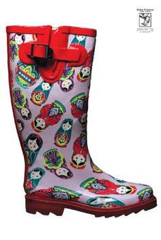 Gum Boots Unsere Matrjoschkas www.matrioskas.es