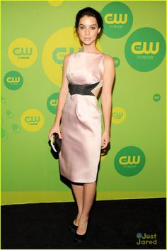 Pretty in Pink! Adelaide Kane at CW Upfronts 2013. Photo: Getty Images. justjared.com