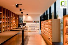 PHARMACIES! Apotheek by CAAN Architects, Sint Martens Latem   Belgium store design
