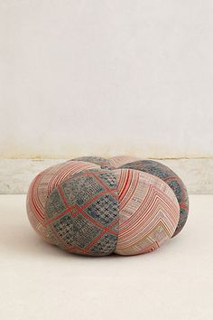 Handwoven Sawan Pouf #anthropologie