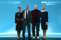 Christian Lacroix for Air France