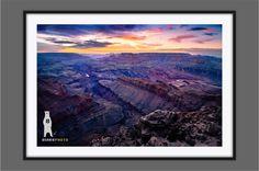 Landscape Photography, Grand Canyon Art, Travel Decor, Travel Photography, Travel Photos, Arizona Art, Grand Canyon Sunset, Lipan Point by Bear8Photo on Etsy