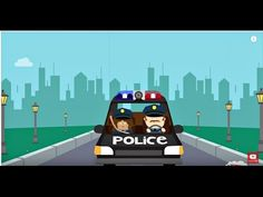 Hurry Hurry Drive the Police Car song for kids!  #kidsmusic #preschool