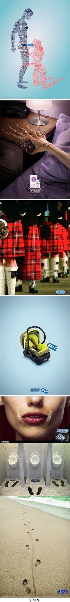 CREATIVE DUREX CONDOM ADS